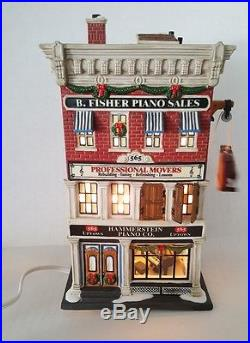 2007 Retired Department 56 Christmas In the City Hammerstein Piano Co. In Box