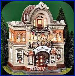 Christmas In The City Dept 56 MONTE CARLO CASINO! 58925 NeW! MINT! FabULoUs
