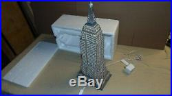 Christmas In The City Empire State Building In Foam Tray