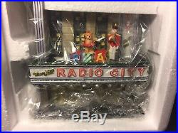 Christmas in the City Department 56 Radio City Music Hall Complete New