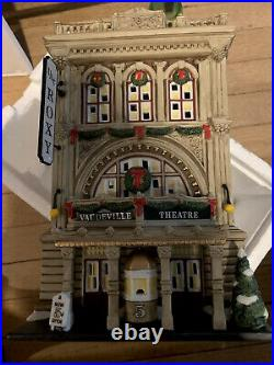 Christmas in the City Dept. 56 The Roxy Theater 805537 Vaudeville Theatre