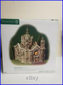 DEPARTMENT 56 CATHEDRAL OF SAINT PAUL Patina Dome Edition Christmas in the City