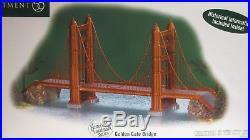 DEPARTMENT 56 GOLDEN GATE BRIDGE christmas in the city