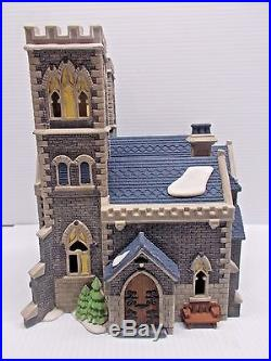 DEPT 56-55492 CATHEDRAL CHURCH OF ST. MARK #1457 OF 17,500 NEW c