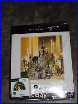DEPT 56 CHRISTMAS IN THE CITY CATHEDRAL OF ST. NICHOLAS NIB Read