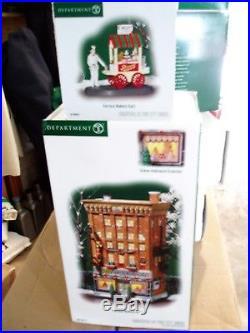 DEPT 56 CHRISTMAS IN THE CITY FERRARA BAKERY & CAFE NIB Still Sealed Read
