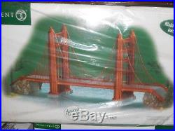 DEPT 56 CHRISTMAS IN THE CITY GOLDEN GATE BRIDGE NIB Still Sealed Read