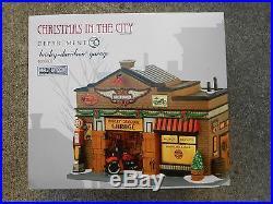 DEPT 56 CHRISTMAS IN THE CITY HARLEY-DAVIDSON GARAGE Still Sealed