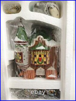 DEPT 56 CHRISTMAS IN THE CITY Jenny's Corner Book Shop RETIRED NEW