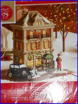 DEPT 56 CHRISTMAS IN THE CITY Village THE PRESCOTT HOTEL NIB Still Sealed