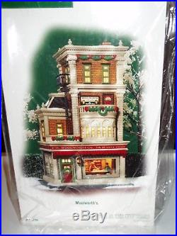 DEPT 56 CHRISTMAS IN THE CITY WOOLWORTH'S NIB Still Sealed