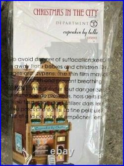 DEPT 56 Christmas In The City CUPCAKES BY BELLA NIB Read