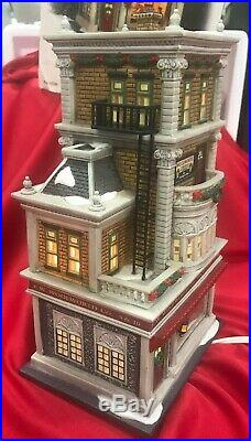 DEPT 56 Christmas In The City WOOLWORTH'S DEPT STORE 59249 in Box
