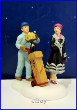 DEPT 56 Christmas in the City LIGHT NOUVEAU plus A BRIGHT NEW PURCHASE