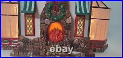 DEPT 56 Christmas in the City Series. TAVERN IN THE PARK # 56.58928 Excellent