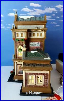 DEPT 56 Christmas in the City VICTORIA'S DOLL HOUSE! New, Toy Store, Animated