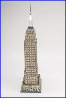 DEPT 56 Christmas in the City Village/House New York EMPIRE STATE BUILDING
