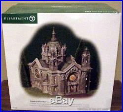 DEPT 56 Christmas in the city CATHEDRAL OF SAINT PAUL Patina Dome Edition