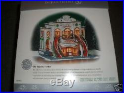 DEPT 56 MAJESTIC THEATRE 25 Anniversary Edition NIB