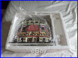 DEPT 56 Rare CHICAGO CUBS WRIGLEY FIELD Lighted Building CHRISTMAS IN THE CITY