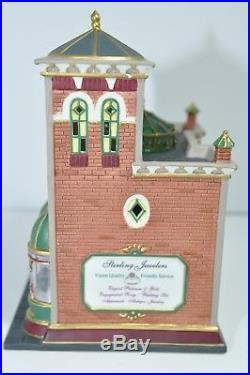 DEPT 56 Sterling Jewelers Christmas in the City 56-58926 Retired