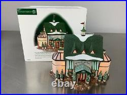 DEPT 56 Tavern In The Park Restaurant Christmas City NYC Green Central Park RARE