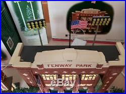 DEPT 56 lot (5) CHRISTMAS IN THE CITY BOSTON RED SOX Souvenir Shop Fenway, more