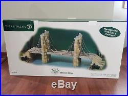 Department 56 Brooklyn Bridge Historical Landmark 56.59247 Christmas In The City