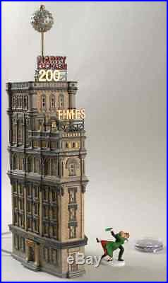 Department 56 CHRISTMAS IN THE CITY The Times Tower 9615377