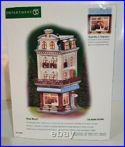 Department 56 Chez Monet Christmas In The City