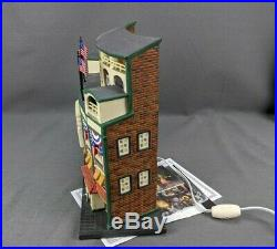 Department 56 Chicago Cubs WRIGLEY FIELD 58933 Christmas in the City with Box