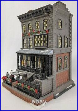 Department 56 Christmas In The City 21 Club Retired CIC DEPT 56 Very Rare