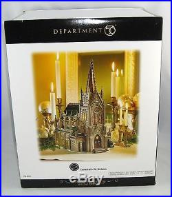 Department 56 Christmas In The City 59248 CATHEDRAL OF ST. NICHOLAS New In Box