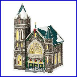 Department 56 Christmas In The City-Church Of The Advent 2015 Retired