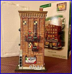 Department 56 Christmas In The City Ferrara Bakery And Cafe CIC retired