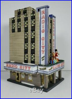 Department 56 Christmas In The City Series 2002 Radio City Music Hall #56.58924
