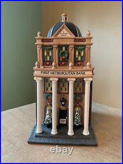 Department 56, Christmas In The City Series, First Metropolitan Bank