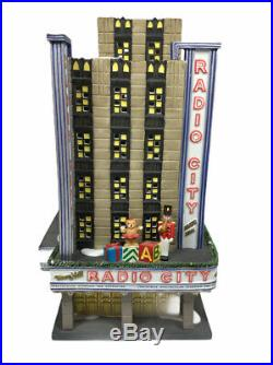 Department 56 Christmas In The City Series Radio City Music Hall 56.58924 Read D