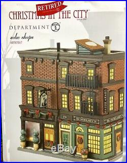 Department 56 Christmas In The City Soho shops #4030347 Retired + Accessory Free