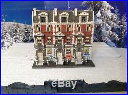 Department 56 Christmas In The City Sutton Place Brownstones Retired Vintage