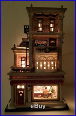 Department 56 Christmas In The City Woolworth's Dept Building Rare New #59249