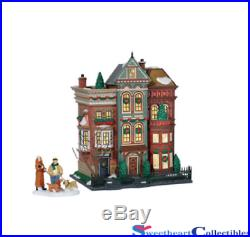 Department 56 Christmas In the City East Village Row Houses