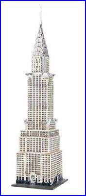 Department 56 Christmas in The City Chrysler Building Village Figurine 4030342