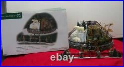 Department 56 Christmas in The City City Zoological Garden 7 piece set #5658978