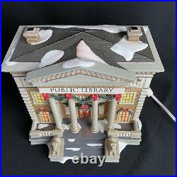 Department 56 Christmas in The City Series Hudson Public Library 56.58942