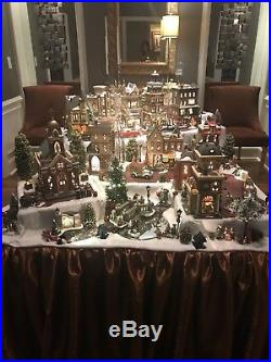 Department 56 Christmas in The City Village