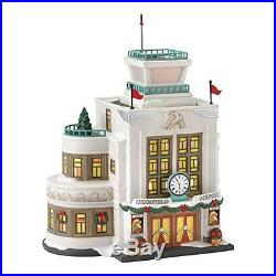 Department 56 Christmas in The City Village Deerfield Airport Lit House, 8.19-In