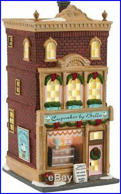 Department 56 Christmas in the City Cupcakes by Bella New 4050912 Retired