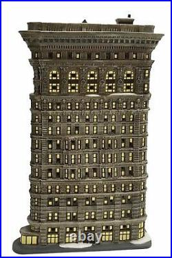 Department 56 Christmas in the City Flatiron Building 2006 RARE MINT