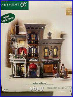 Department 56 Christmas in the City Jamison Art Center New in Box 59261 RARE